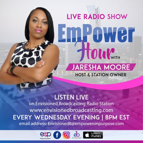 Empower Hour with Jaresha artwork