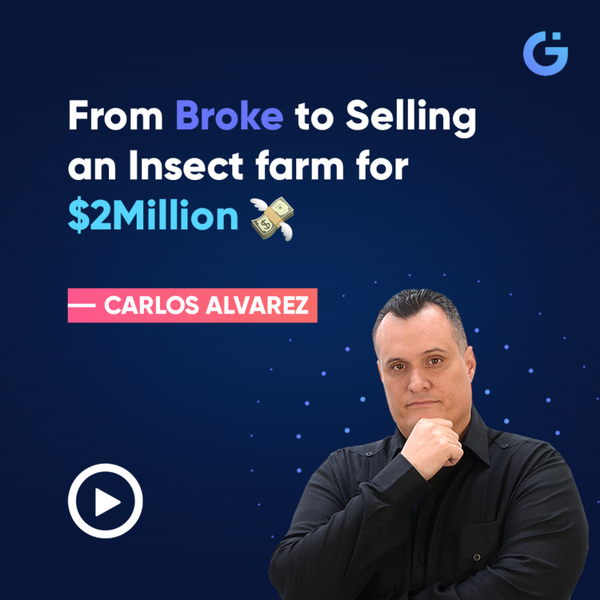 From Broke to Selling an Insect farm for $2 Million 💸 artwork