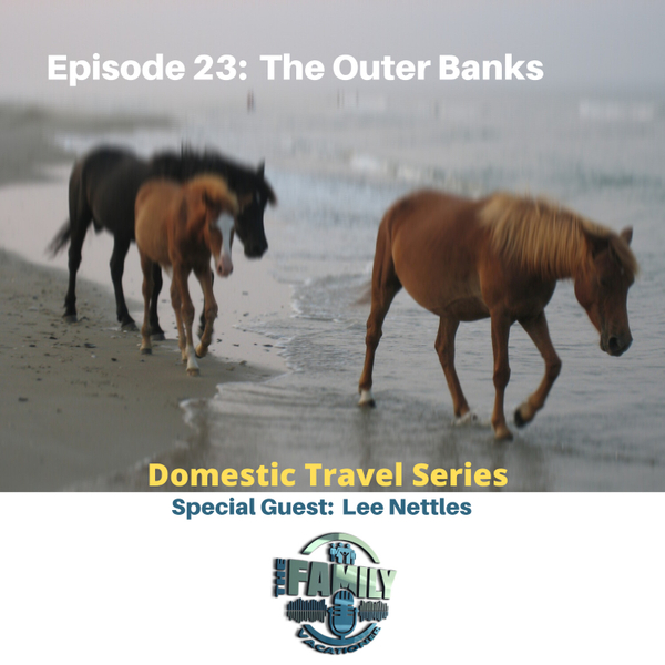 The Outer Banks with Lee Nettles artwork