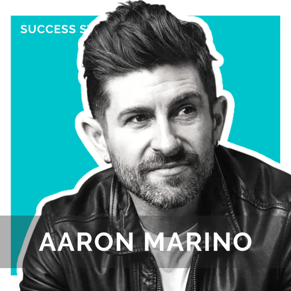 Aaron Marino, Alpha M & Serial Entrepreneur   How to Launch Multiple Businesses Off a Personal Brand artwork