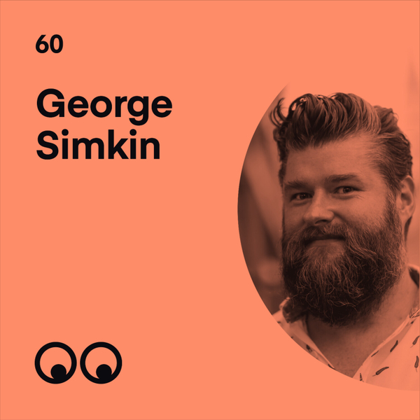 George Simkin on not taking life too seriously and the joy of play in design artwork