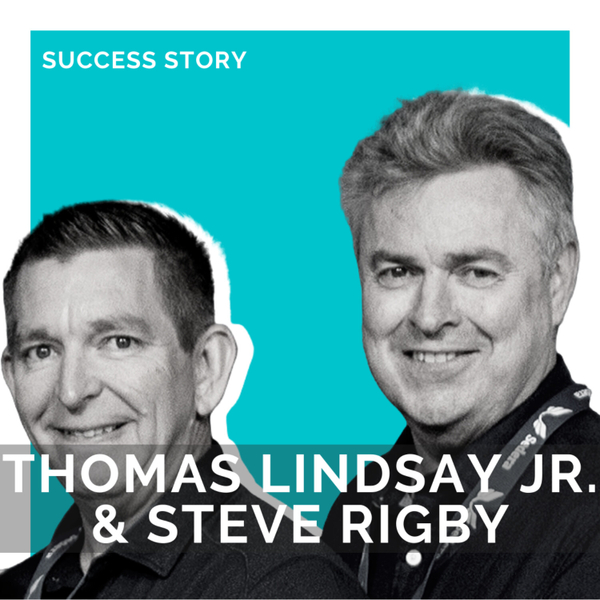 Tom Lindsay Jr. & Steve Rigby, Accelerated LLC | Disrupting Healthcare | SSP Interview artwork