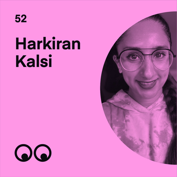 Harkiran Kalsi talks diversity and pushing for real change in the creative industries artwork