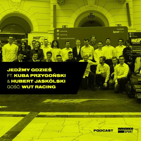 #12 WUT Racing. Inżynierowie bolidu Formuły Student