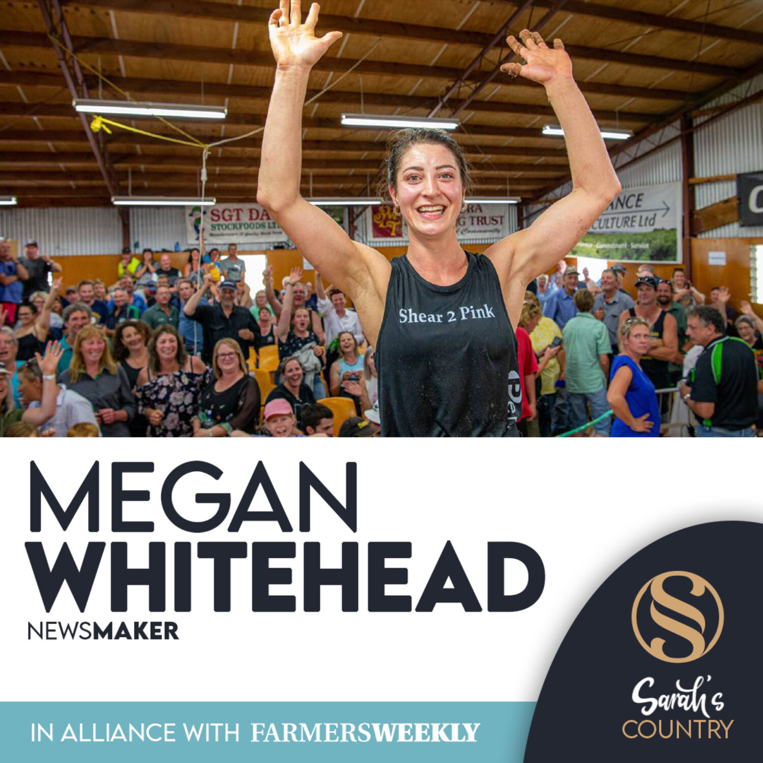 "Megan Whitehead I ""Record-breaking in the woolshed"""