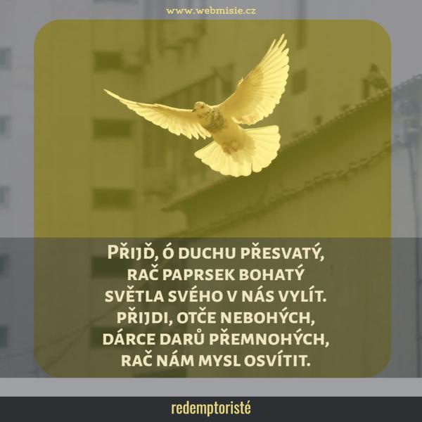Nechat Ducha svatého, aby nás proměnil