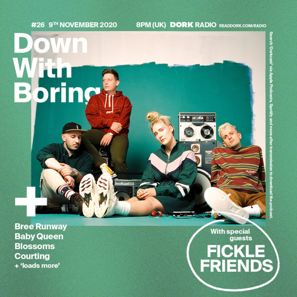 Down With Boring #0026: Fickle Friends artwork