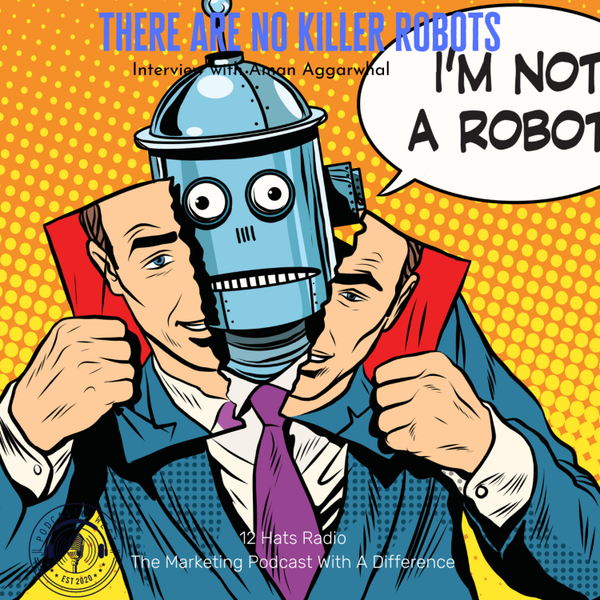 There Are No Killer Robots! Interview with Aman Agarwal artwork