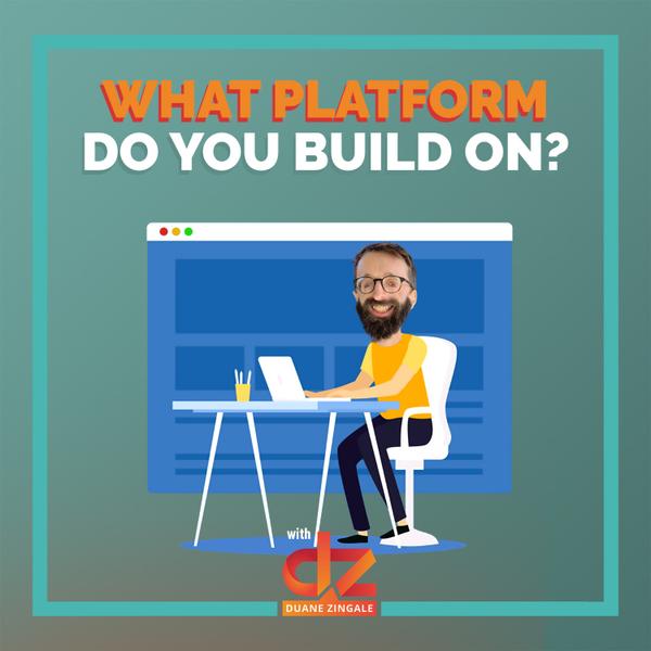 MYMS 33: What platform do you build on? artwork
