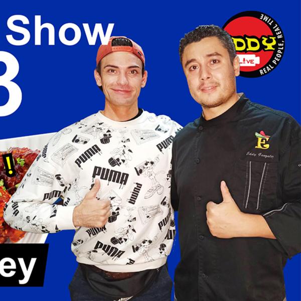 Eddy LIVE Show #53, Roger Dunkley, Actor/Model/Teacher artwork