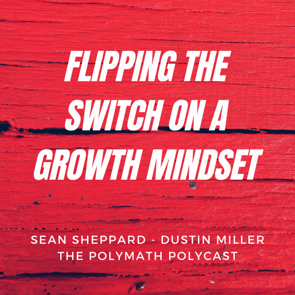 Flipping the switch on a Growth Mindset with Sean Sheppard [The Polymath PolyCast] artwork