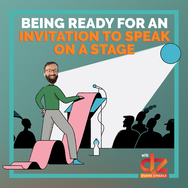 MYMS 55: Being Ready For An Invitation to Speak on a Stage artwork