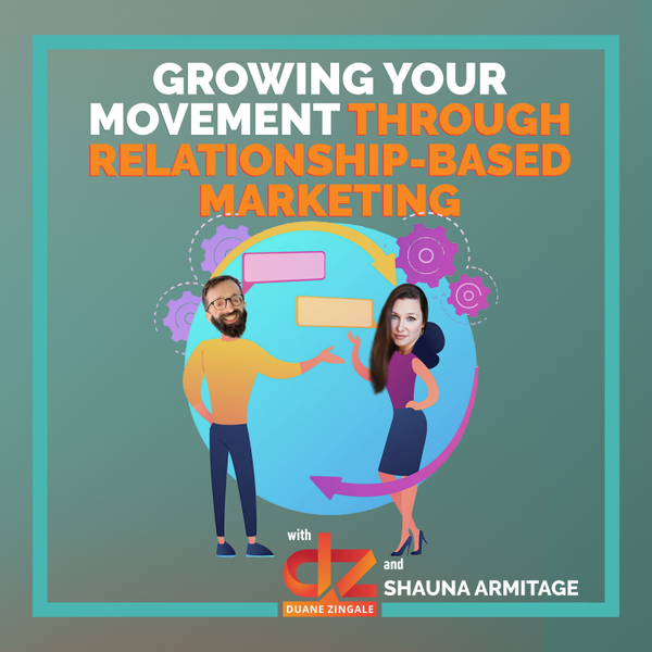 MYMS 68: Growing your movement through relationship-based marketing with Shauna Armitage artwork