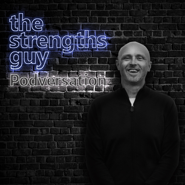 Podversation 14: Strengths in the community with Christian Bless artwork