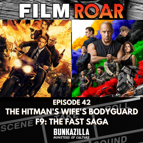 F9: The Fast Saga & The Hitman's Wife's Bodyguard artwork