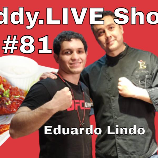 Eddy.LIVE Show #81 - Eduardo Lindo, Muay Thai Coach, UFC Gym Taiwan artwork