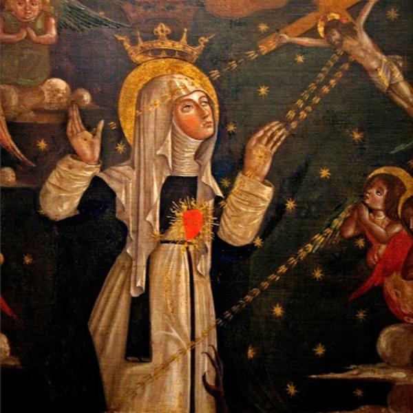 Svatá Kateřina Sienská nás učí modlitbě