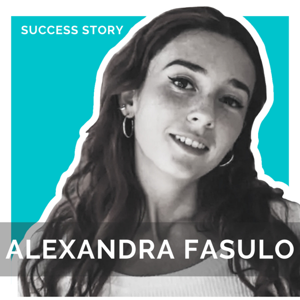 Alexandra Fasulo, Full Time Digital Nomad   How to Make 7 Figures Freelancing on Fiverr artwork