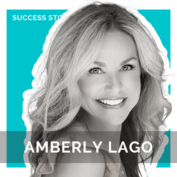Amberly Lago, Speaker, Author and Podcaster | How to Live a Life of Grit and Grace artwork