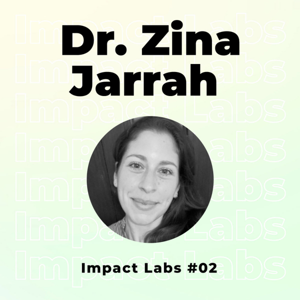 Dr Zina Jarrah | Beyond Dollars & Doctors: Transforming Public Health artwork