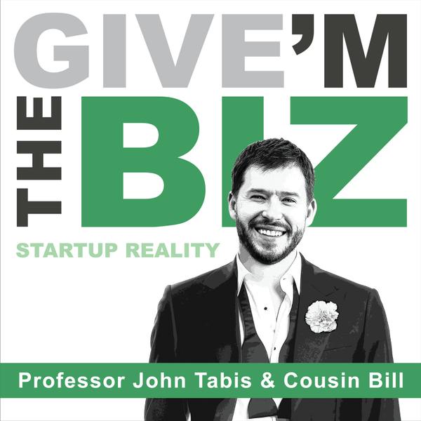 Give 'M The Biz with John Tabis artwork