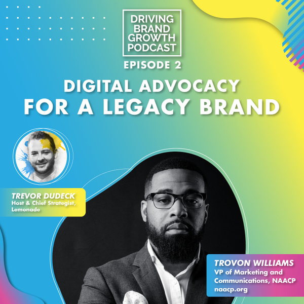 Digital Advocacy For a Legacy Brand with Trovon Williams artwork